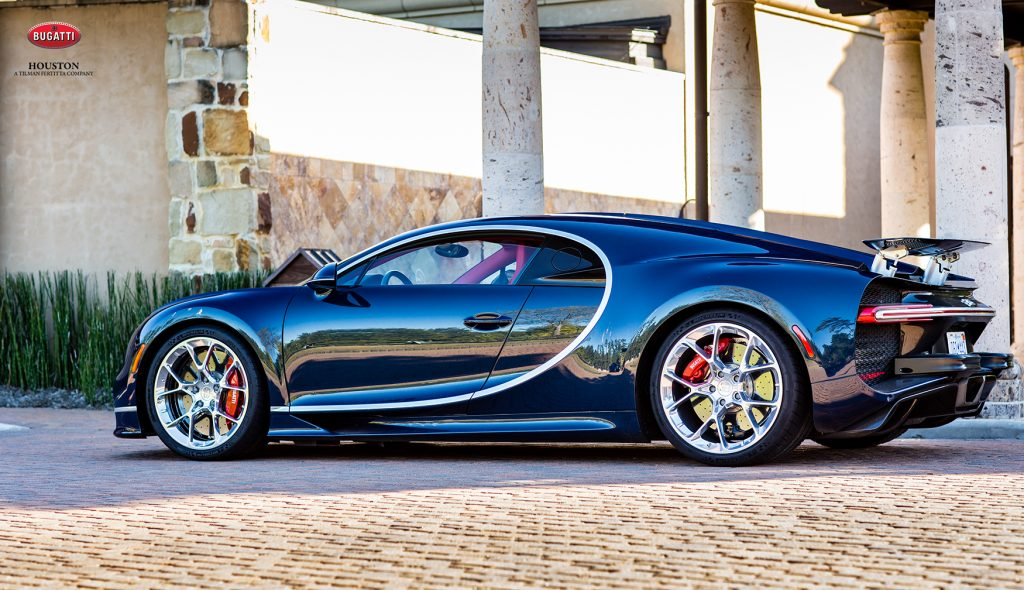 Bugatti Houston Chiron Driving Event