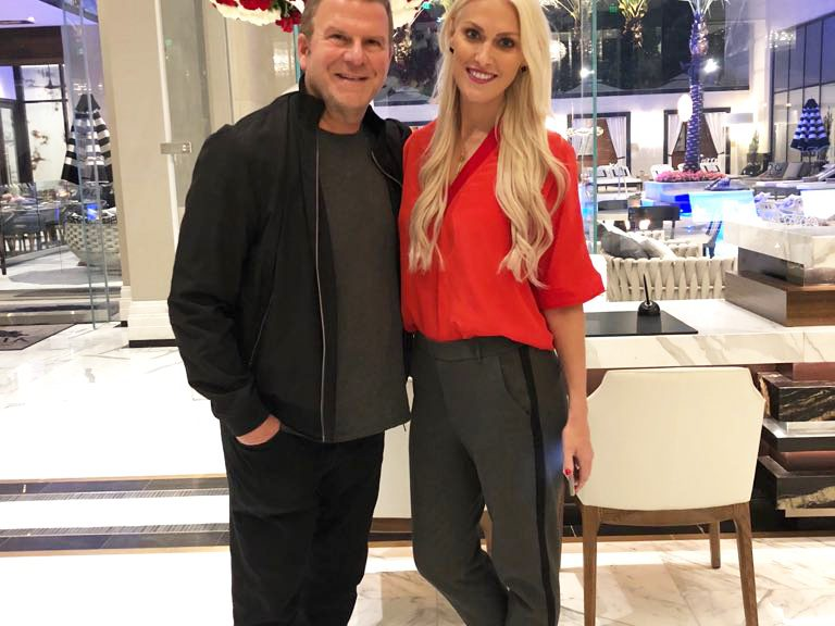 Supercar Blondie and Tilman Fertitta