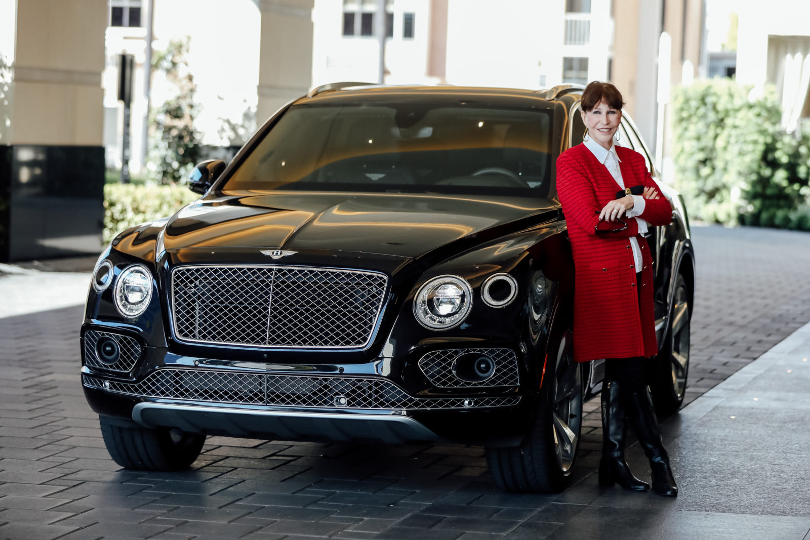 PaperCity's very own Shelby Hodge takes to the streets in the new Bentley Bentayga V8