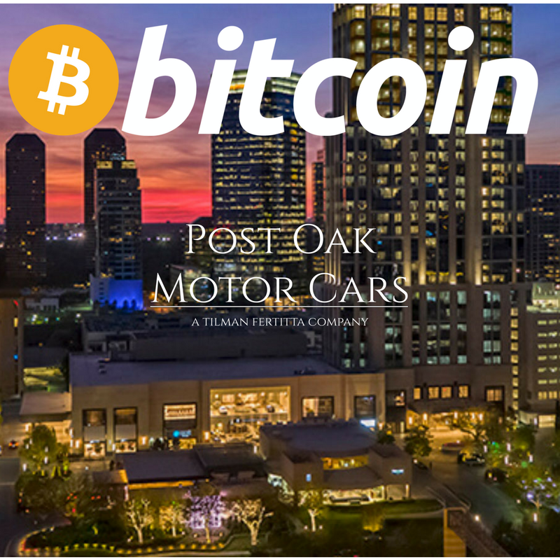 Businessman Tilman Fertitta's Post Oak Motor Cars Now Accepts Bitcoin