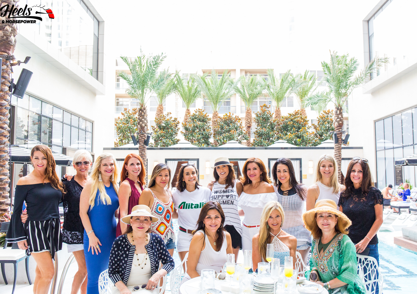 Supporting Houston's Car Girl Community with Poolside and Pistons