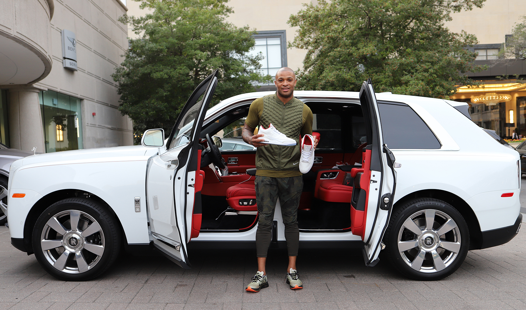 PJ Tucker Houston Rockets Rolls-Royce Houston