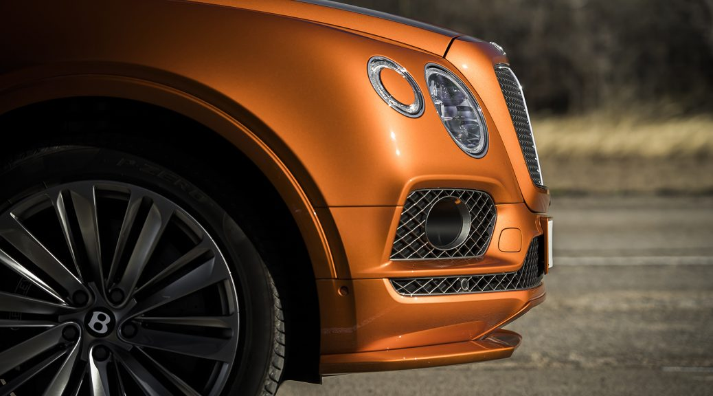 Bentayga Speed from Bentley Houston