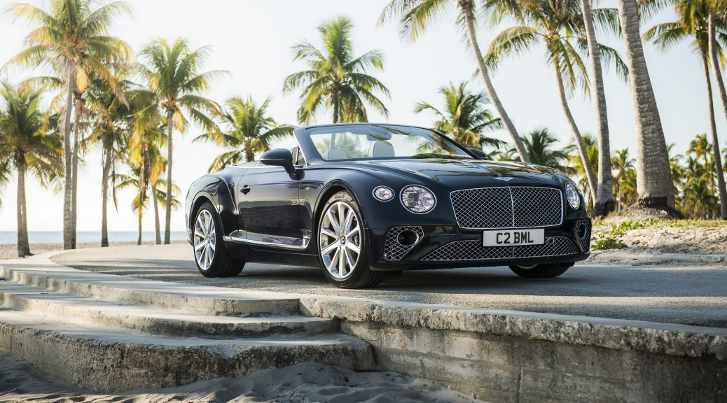 Bentley Houston 2020 Continental GT V8 Convertible