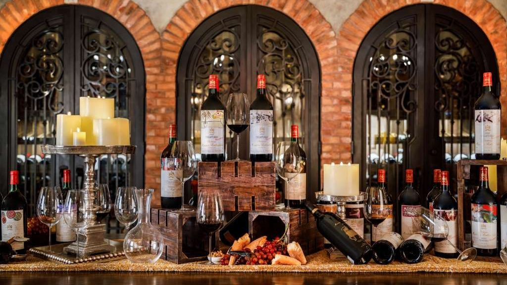Post Oak Hotel Wine Cellar $1 Million Dollar Package