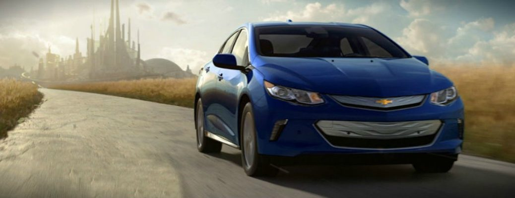 2016 chevy volt tomorrowland