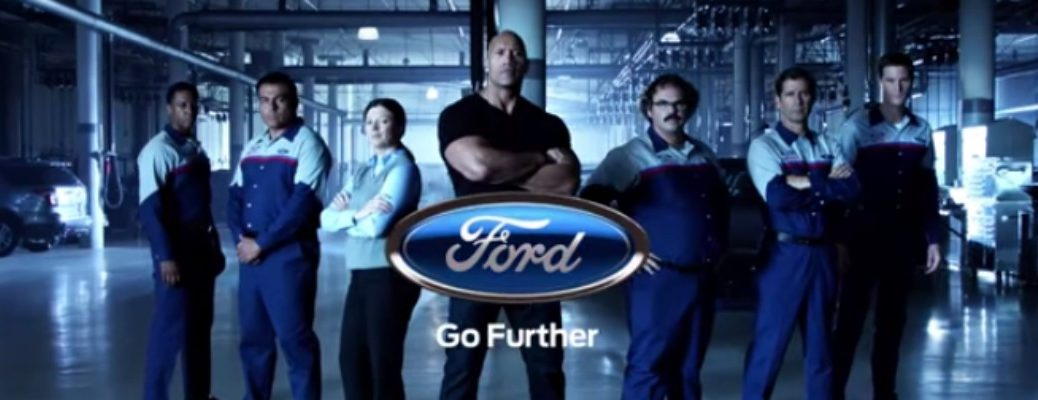 The Rock Ford Ad