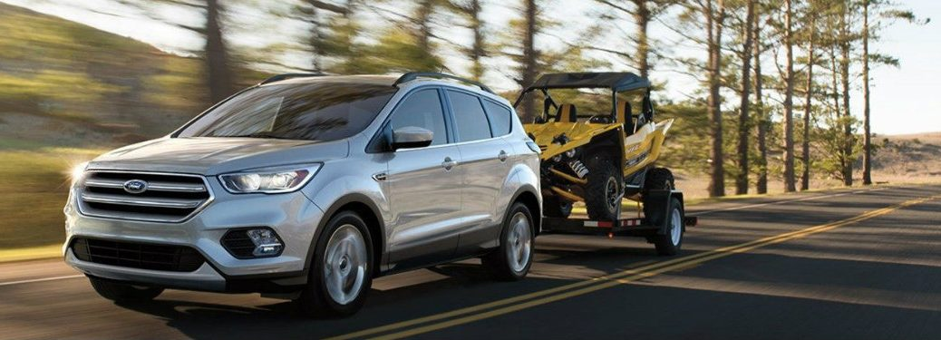 Ford Escape Towing Capacity >> 2018 Ford Escape Offers Practical Towing Interior Harbin Automotive