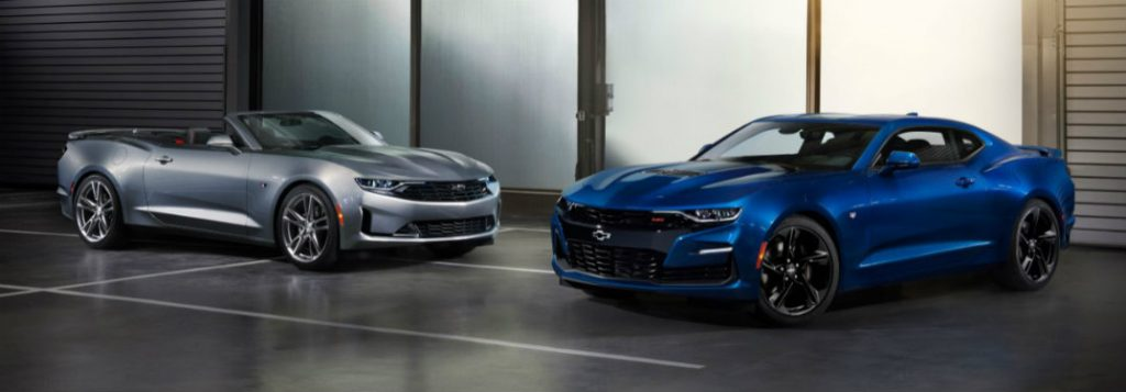 2019 Chevy Camaro Grille Designs And New 1LE Model