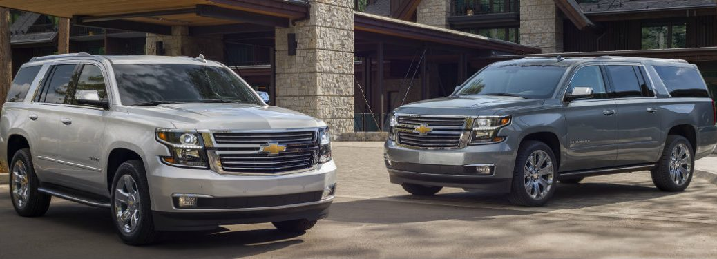 2019 Chevy Tahoe and Suburban Premier Plus