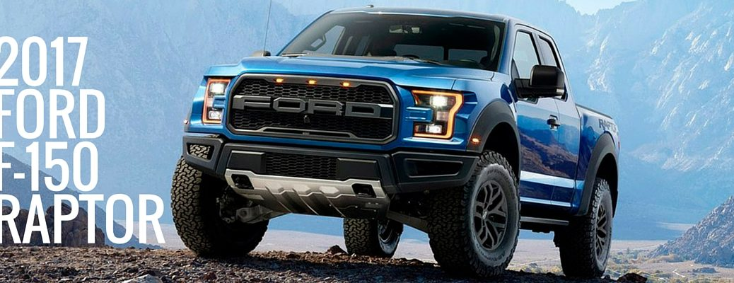 2017 Ford F-150 Raptor features and design