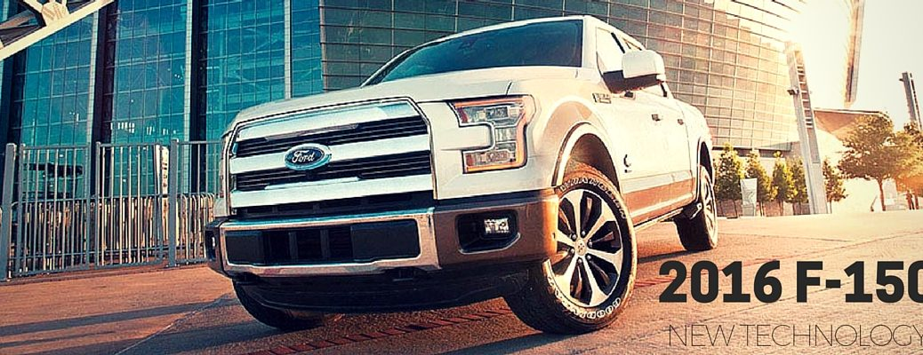 new technology in the 2016 Ford F-150