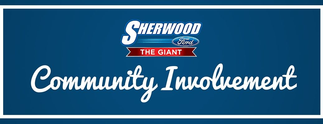 How is Sherwood Ford involved in the community