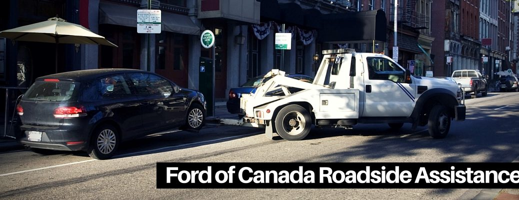 What's included with Ford of Canada Roadside Assistance