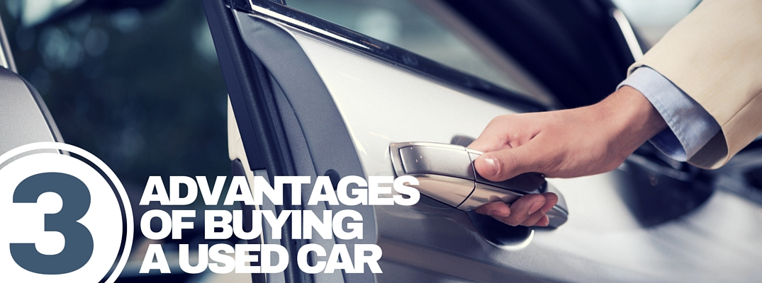 3 Advantages of buying a used car