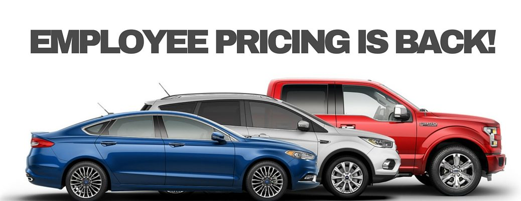 Ford employee pricing sale in Edmonton AB