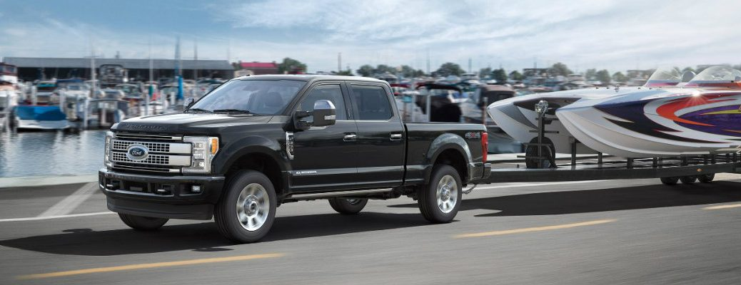 does Ford Super Duty adaptive cruise control work while towing