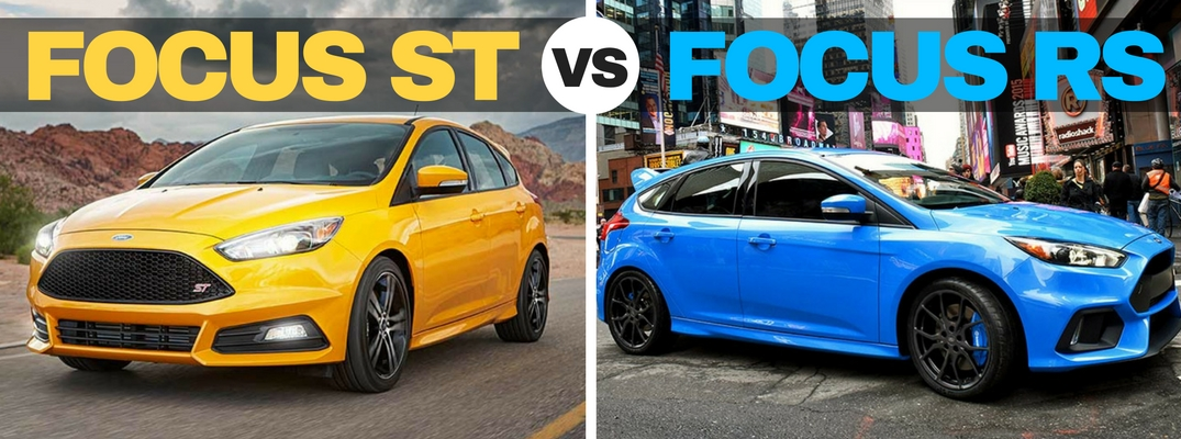 Ford Focus Rs Vs St >> 2016 Ford Focus St Vs Rs Comparison