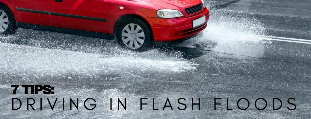 what to do with your car during a flash flood
