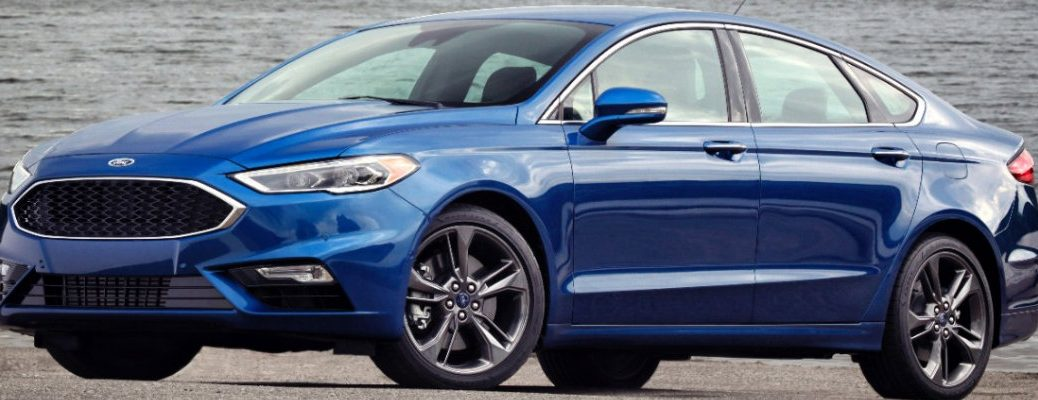 what's included with the 2017 Ford Fusion V6 Sport