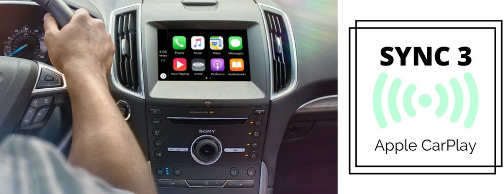 how to use SYNC 3 Apple CarPlay