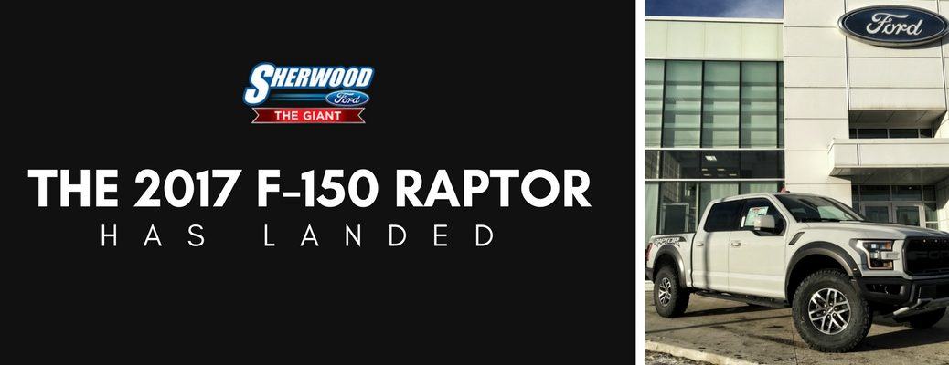2017 Ford F-150 Raptor now available in Sherwood Park AB