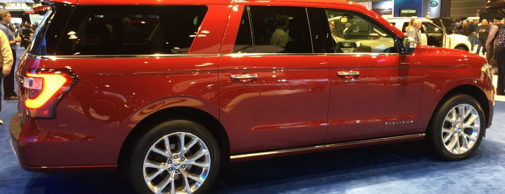 2018 Ford Expedition three-row SUV