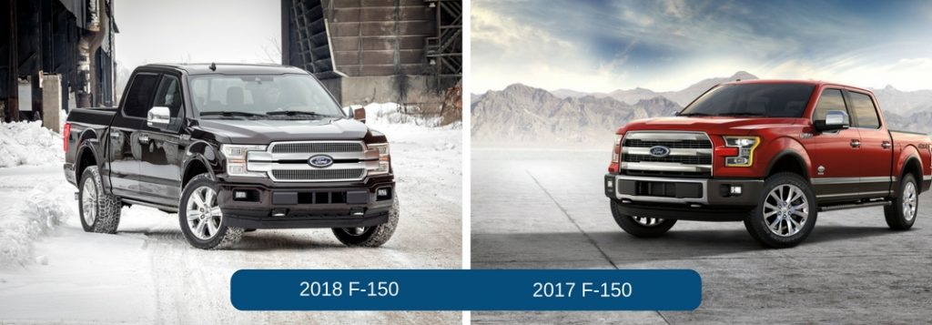 differences between the 2018 ford f 150 and 2017 ford f 150. Black Bedroom Furniture Sets. Home Design Ideas
