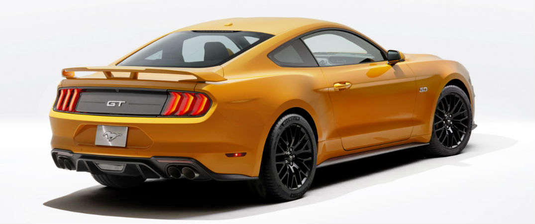 2018 Ford Mustang New Orange Fury Color Option