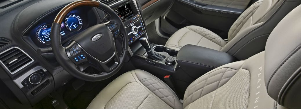 Ford Explorer leather seating options