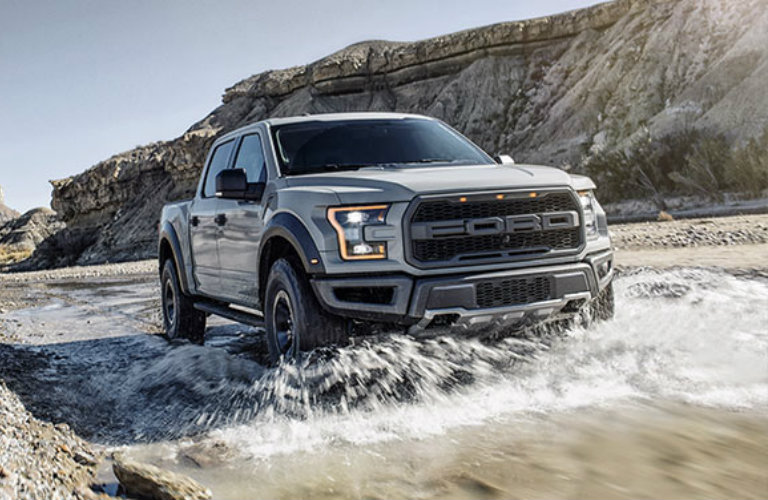 2017 Ford Raptor off-road capability