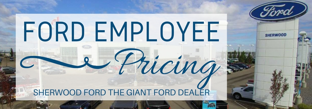 When is Ford Employee Pricing?