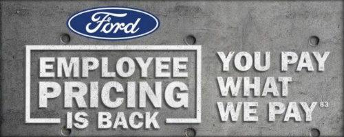 Ford employee pricing edmonton ab