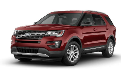 2017 Explorer Ruby Red