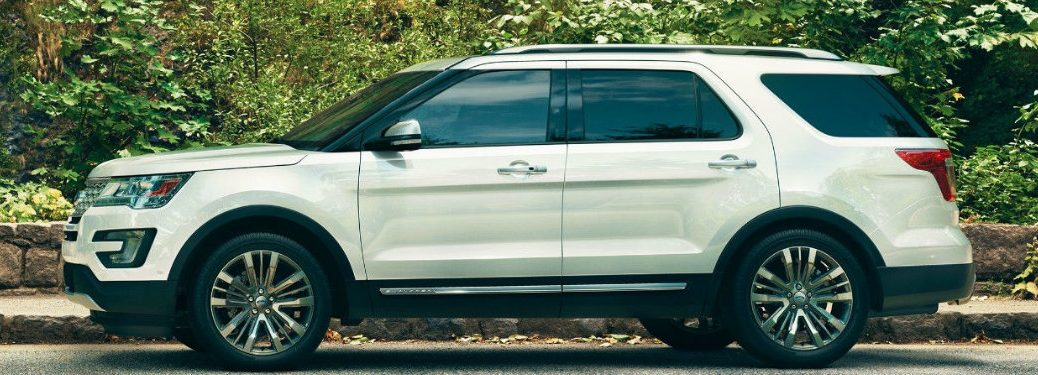 2017 Explorer Color Options