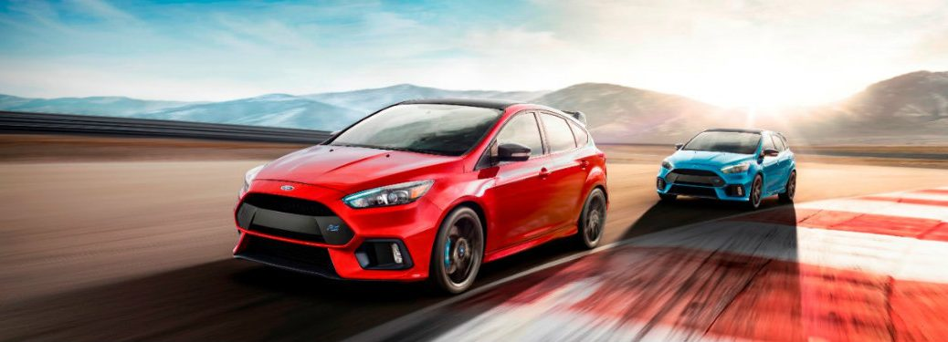 What's new on the 2018 Ford Focus RS?
