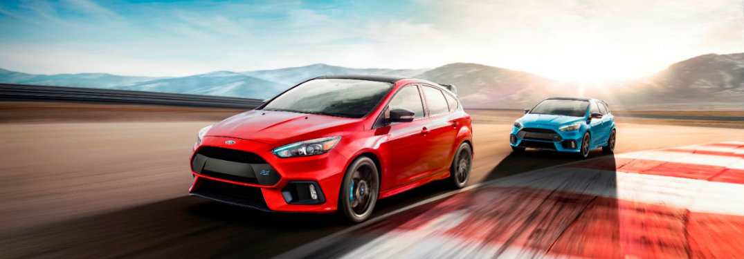 2018 Ford Focus RS Limited Edition Unique Features