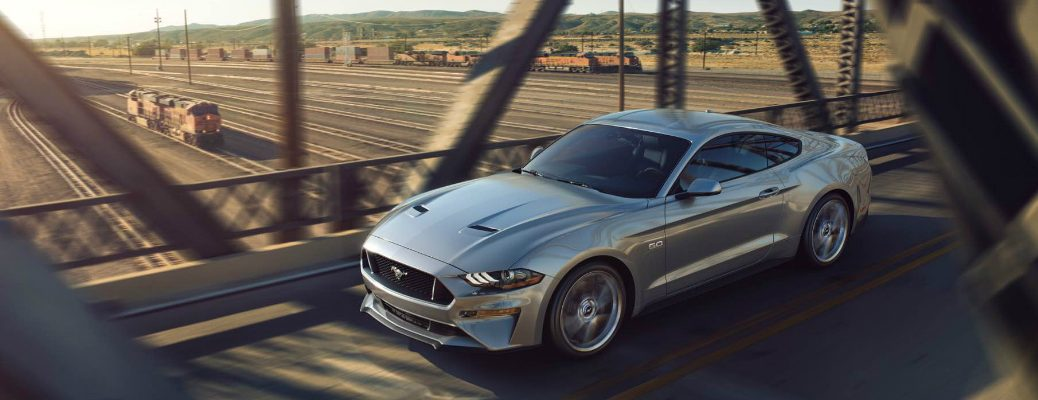 Engine Options on the 2018 Ford Mustang Exterior