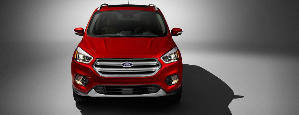 Performance Features on the 2017 Ford Escape Front End