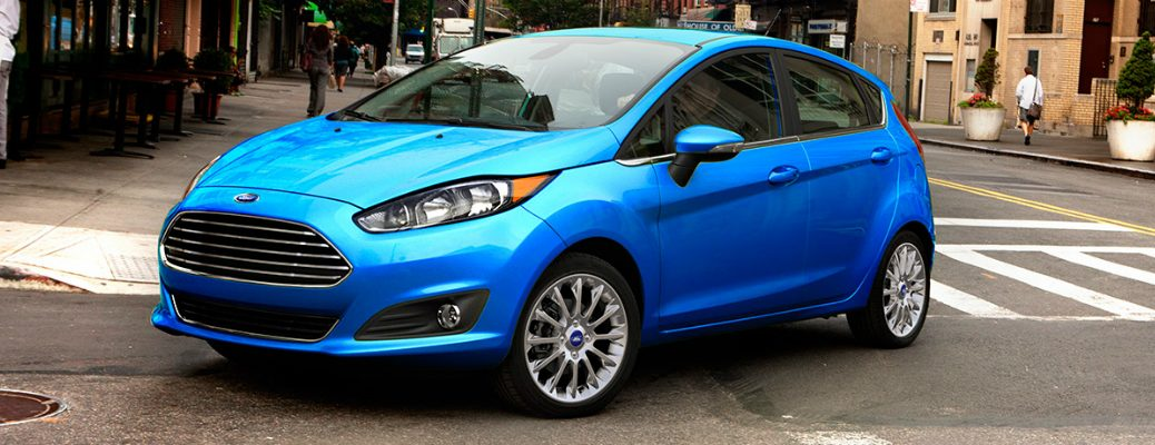 Available Technology on the 2017 Ford Fiesta Exterior