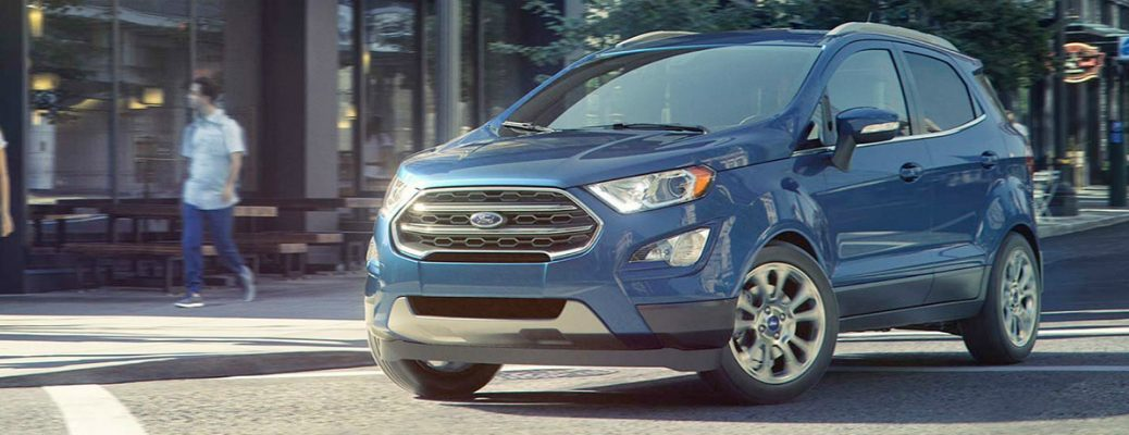 Starting Price of the 2018 Ford EcoSport Exterior