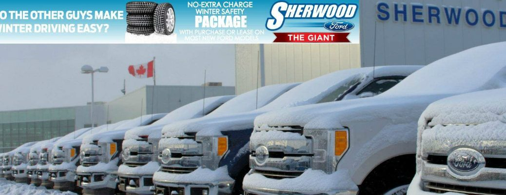 Sherwood Ford Winter Service Package feature