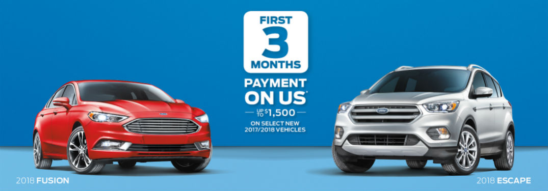 January 2018 Ford Canada Incentives and Rebates