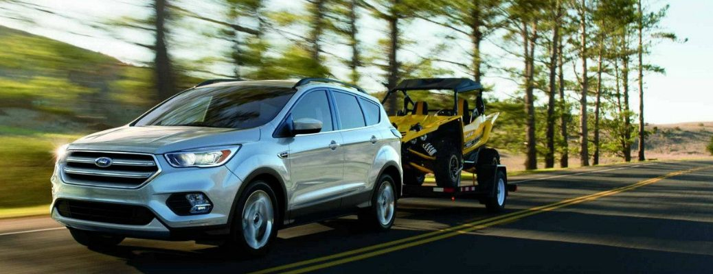 2018 Ford Escape Towing an Off-Road Vehicle