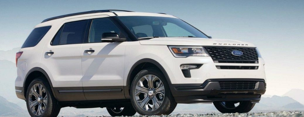 2018 Ford Explorer Rest on a Plateau