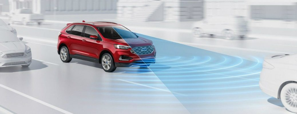 Sensor on the Front of the 2019 Ford Edge
