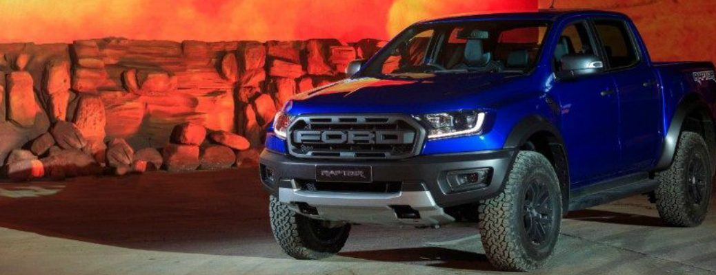 2019 Ford Ranger Raptor at its Launch Site