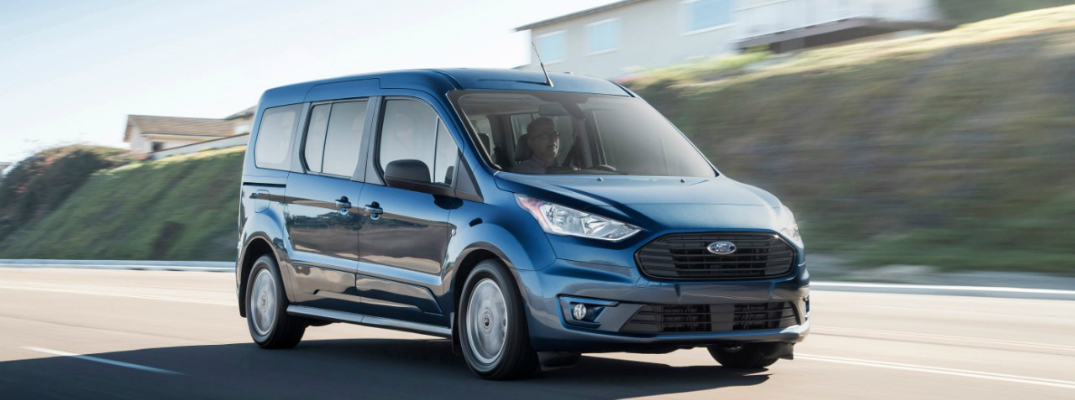 Available Technologies on the 2019 Ford Transit Connect Wagon