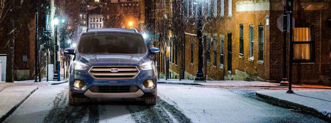 What features are included with the Ford Safe and Smart Package?