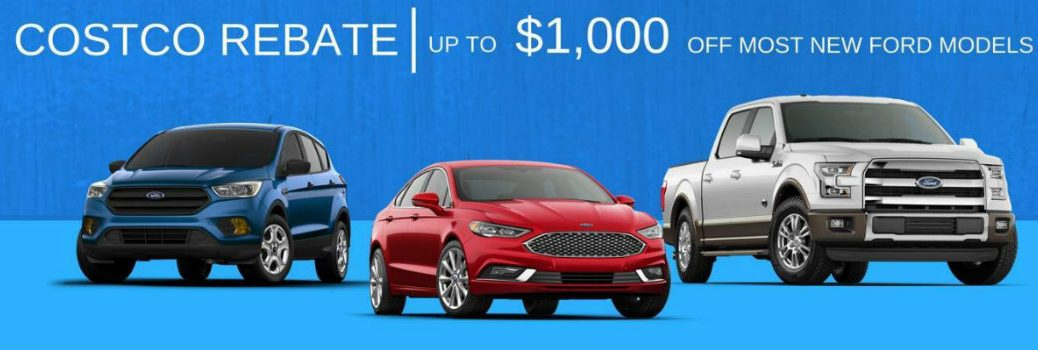 Image detailing Costco Member Offers at Sherwood Ford